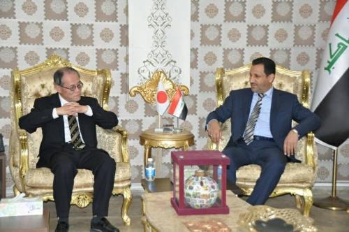 العراق يؤكد أهمية القرض الياباني في تنفيذ مشاريع اتصالاتية