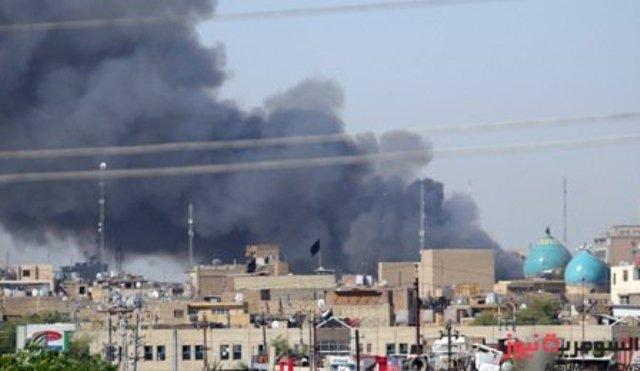 مسلسل الحرائق .. ألسنة النيران تتصاعد بالقرب من مبنى نادي القادة بالكسرة
