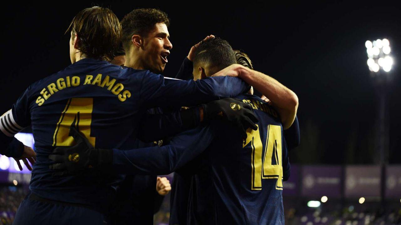 ريال مدريد ينفرد بصدارة الليغا بفوز صعب على بلد الوليد