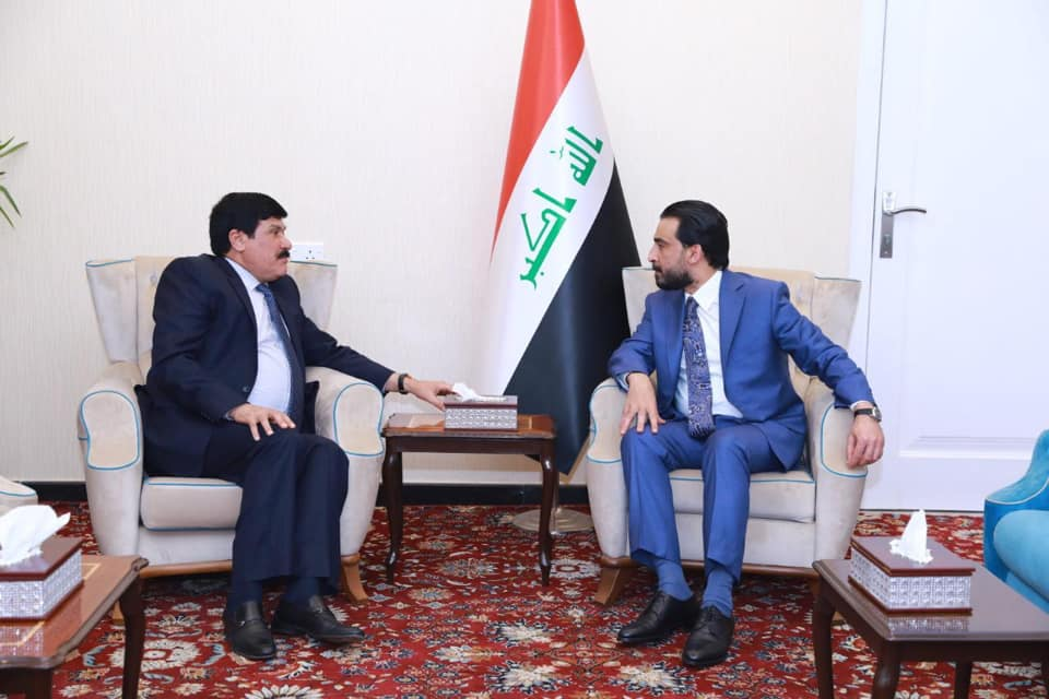 Halabousi discusses with the Syrian ambassador the opening of the crossings and the joint relations Image