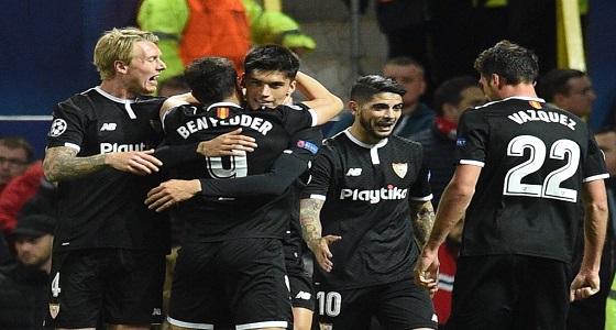 اشبيلية ينتصر على مانشستر يونايتد بهدفين لهدف ضمن الدوري الاوربي