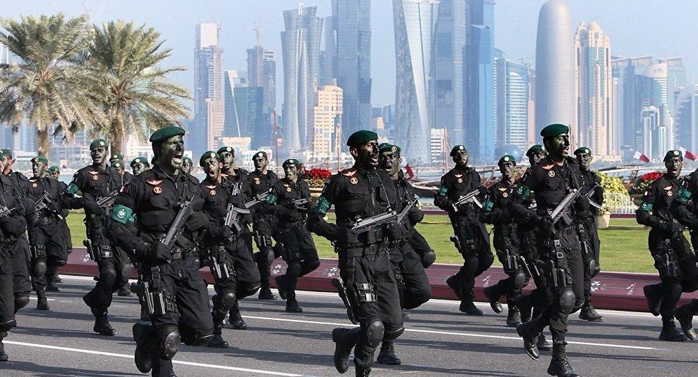 قوة عسكرية قطرية تصل إلى السعودية