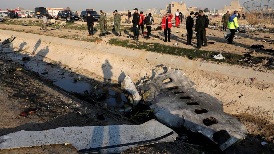 الحرس الثوري الإيراني يعلن مسؤوليته الكاملة عن حادثة إسقاط الطائرة الاوكرانية