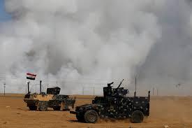 تحرير معمل غاز تلكيف ضمن محور سد الموصل