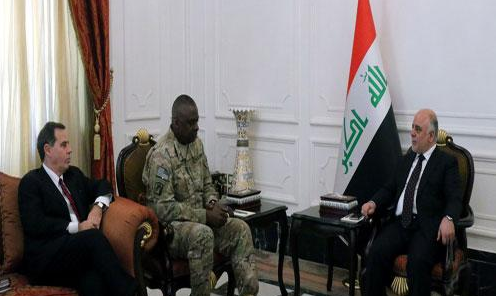 US general asks Abadi undermine the popular crowd coming battles