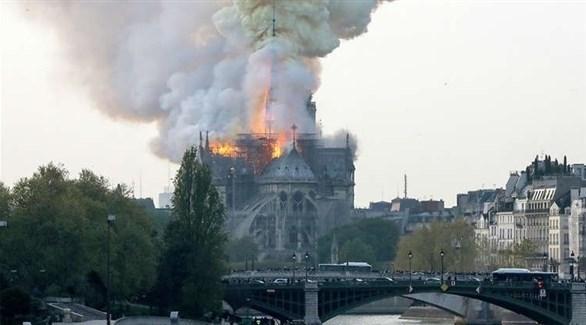 التحقيقات مستمرة لمعرفة سبب حريق كاتدرائية نوتردام في باريس