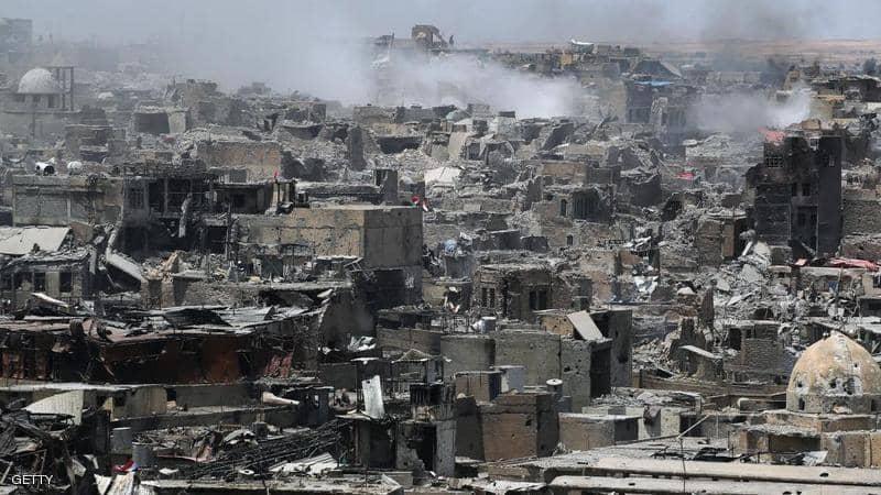 تقرير امريكي: البيروقراطية سيئة السمعة والفساد في اموال اعادة الاعمار تبقي الموصل في خراب