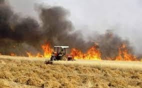 الدفاع المدني يكشف عن اخر احصائيات حرائق الحنطة