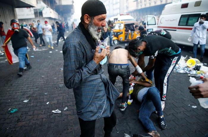 اكثر من 3الاف اعاقة خلال التظاهرات العراقية .. حمزة ذو الــ 16 ربيعا انموذجا للعنف المفرط