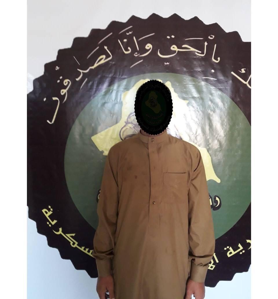 الاستخبارات العسكرية تطيح بإرهابي في الانبار