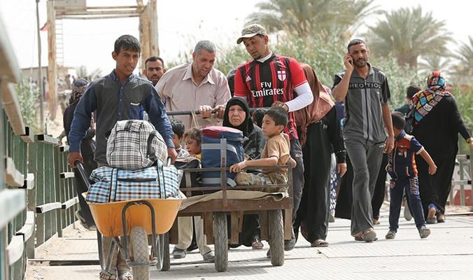 85 أسرة نازحة تعود الى مناطقها السكنية في قضاء القائم غربي محافظة الانبار