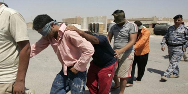 كركوك: القاء القبض على 4 دواعش وفق أحكام المادة (٤/ ارهاب)