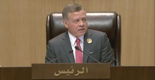 """العاهل الأردني يبارك انتصارات العراقيين على """"داعش"""" ويؤكد وقوفه إلى جانبهم لـ""""دحر الخوارج"""""""