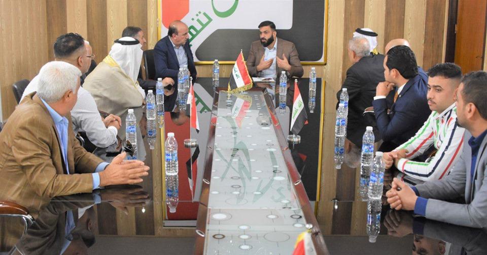 خمسة وفود عشائرية في بغداد تشيد بدور الكربولي في متابعة شؤونهم