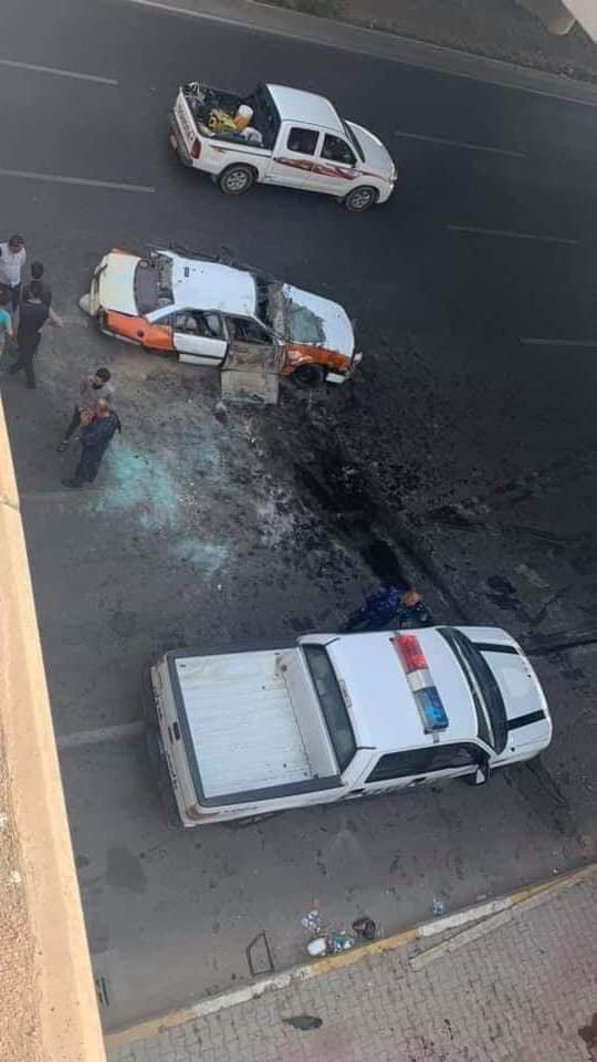 شارع 120متر في اربيل يسجل اول حادث مروري منذ دخوله الخدمة