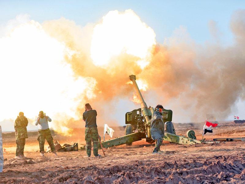 الكشف عن استخدام  القطعات العسكرية الأسلحة الذكية في المرحلة الثالثة لعمليات تحرير الموصل