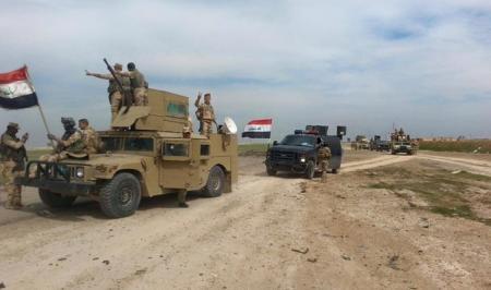 القوات الأمنية تعلن جاهزيتها لانطلاق عمليات  تحرير جزيرة الرمادي من عناصر تنظيم داعش