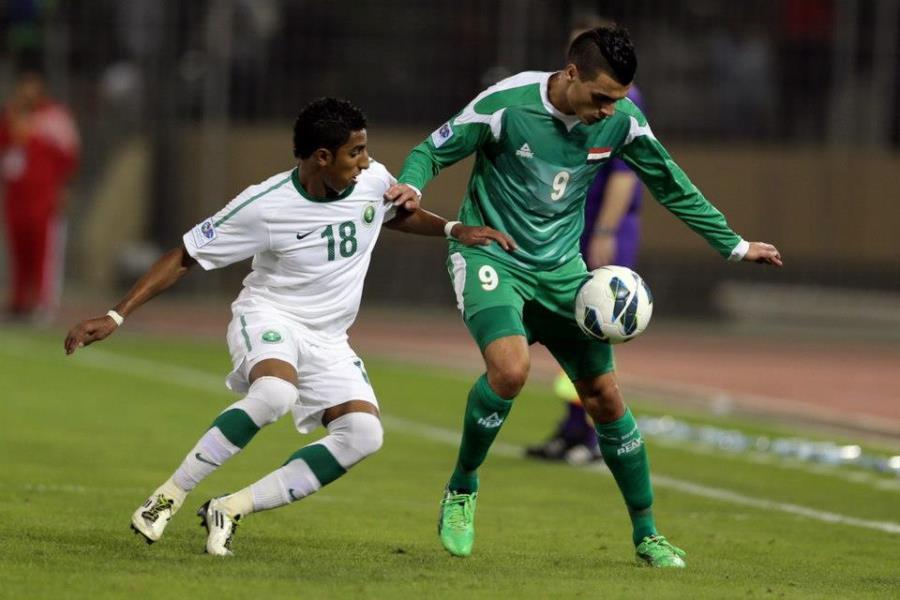 """ملعب""""شاه علم"""" يستضيف العراق والسعودية  في مباراة الذهاب للتصفيات الاسيوية"""
