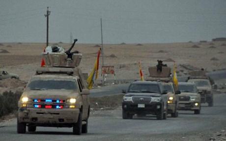 الحشد يعلن إنطلاق عمليات قوات الحشد غرب مدينة الموصل