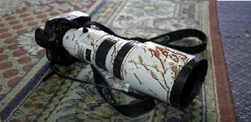 مقتل واصابة صحفيين بهجوم لداعش في الخالدية