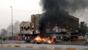 مقتل شخص وإصابة ثلاثة آخرين في انفجار بعلوة اسماك جنوبي بغداد