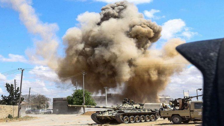 الجيش الليبي يقتل 10 مسلحين في غارات بمحاور طرابلس