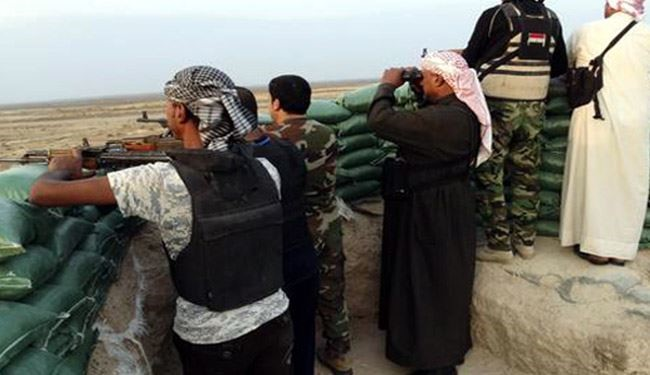 القوات الأمنية والحشد العشائري تواصل التقدم نحو حي البكر في قضاء هيت