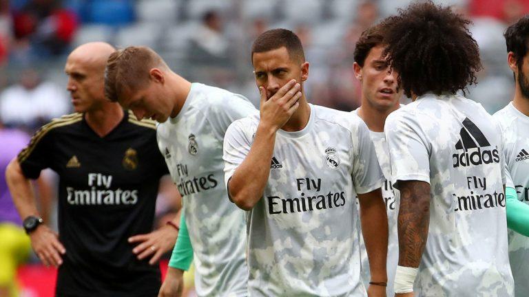 هازارد: اللعب تحت قيادة زيدان في ريال مدريد وكأنني في الجنة