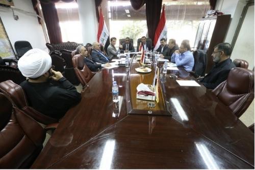 الأمن والدفاع النيابية تناقش عمليات تحرير نينوى وتخصيصات الوزارات الأمنية في موازنة العام 2017