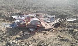 تدمير مضافات ومخلفات حربية لعصابات داعش بمحافظة الأنبار