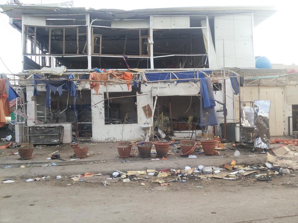 اصابة 10 مواطنين في تفجير  انتحاري  نفسه في حي أور