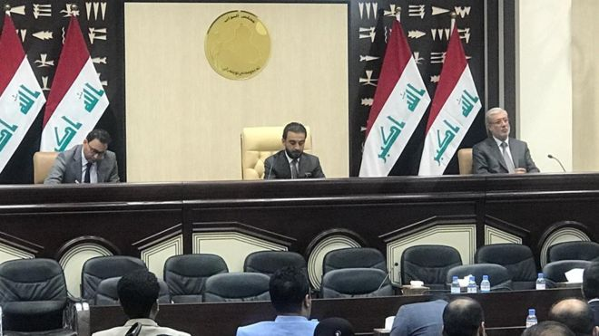 Parliament completes first reading of proposed law to restore employees of the Ministry of Interior and Defense to serve Image
