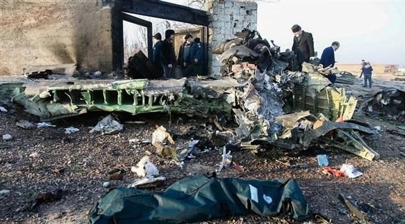 اصابتها بصاروخ ..  إيران تعترف بإسقاط الطائرة الأوكرانية