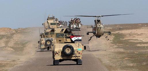 عمليات نينوي تعلن حسم اليوم الأول من معارك تحرسير القيارة وتقتل 40 داعشيا
