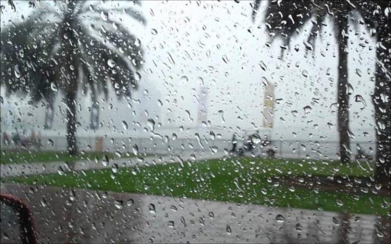 زخات مطر خريفية تلطف اجواء بغداد
