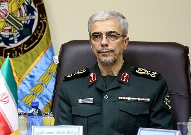إيران: رئيس الأركان محمد باقري لن يزور بغداد