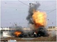 انفجار عبوة ناسفة بمنطقة اليوسفية يؤدي لمقتل مدني واصابة 7 اخرين