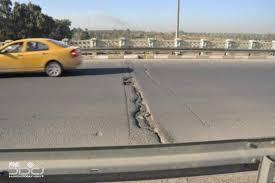 امانة بغداد تباشر بعمليات اكساء وتأهيل طريق الدورة باتجاه الرصافة