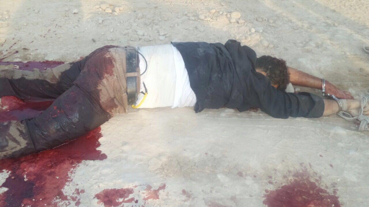 شرطة ديالى تقتل انتحاريا يرتدي حزاما ناسفا كان يحاول الدخول الى ناحية قرتبه
