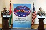 """بمشاركة 8 آلاف عسكري من 19 دولة ..  بدء مناورات """"الأسد المتأهب"""" في الأردن"""