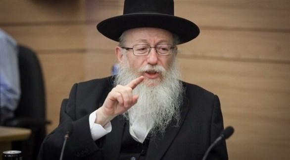 إصابة وزير الصحة الإسرائيلي وزوجته بكورونا