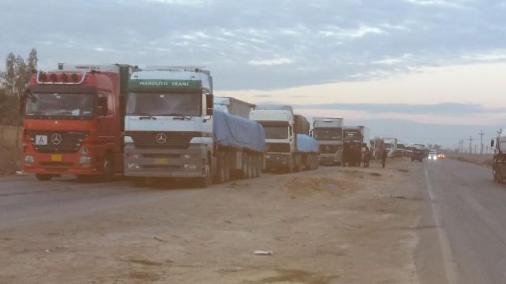 عبور أكثر من 4000 شاحنة أردنية معبر طريبيل الحدودي خلال الربع الأول من العام الحالي