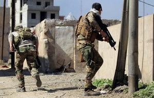 تحرير قرية درناجوخ شرق ناحية بادوش في الجانب الايمن لمدينة الموصل