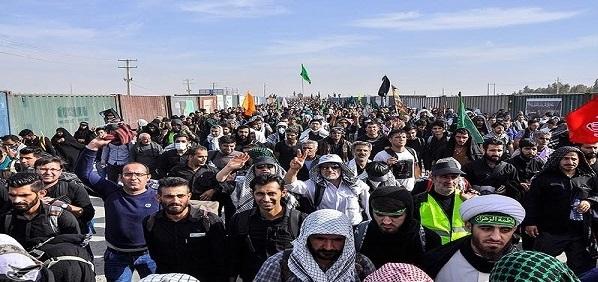 حتى الان ..  600 الف زائر اجنبي دخل العراق عن طريق إيران