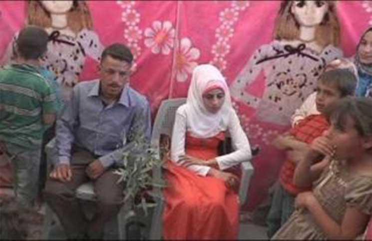 شرطة دهوك توقف مراسم زواج رجل أربعبني من طفلة سورية ؟؟