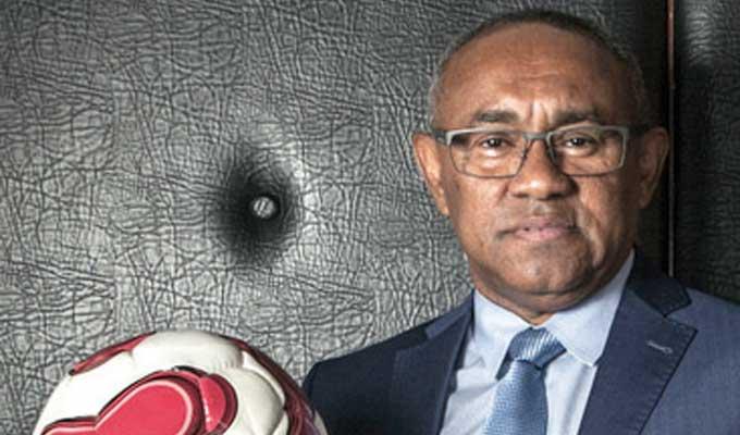 الإفراج عن رئيس الاتحاد الإفريقي لكرة القدم
