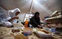 شمول  (2469) عائلة نازحة بالمساعدات الغذائية والعينية في دهوك