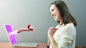 دراسة مثيرة بشأن بالزواج عبر الانترنت
