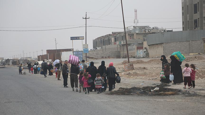 الهجرة تنشىء  18 ألف وحدة إيواء بجنوب مدينة الموصل تميهيدا لنقل العوائل النازحة