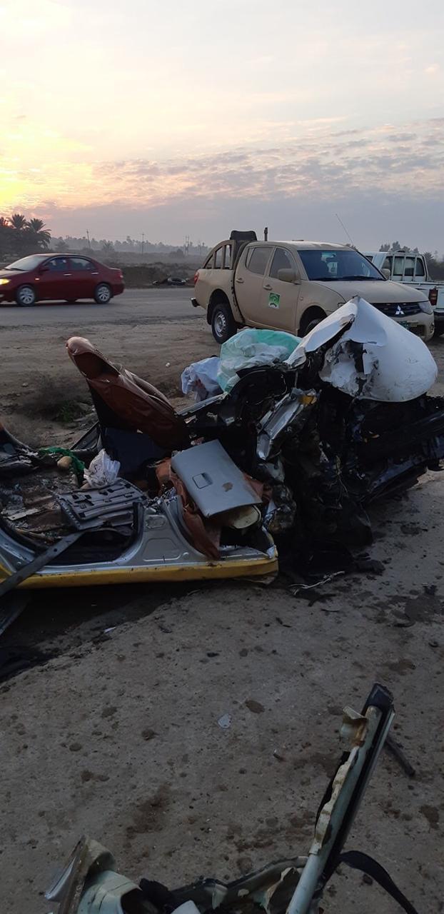 """بالصور ..  حادث سير """"مروع"""" على الطريق الدولي الجنوبي"""